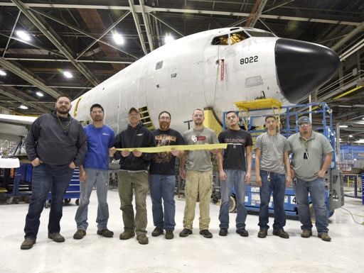 KC-135 beam replacement expedited by Tinker units