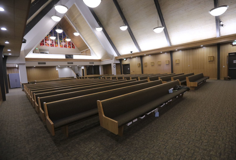 Although the Chapel's sanctuary, which serves multiple faiths at Hill Air Force Base, Utah, is empty due to gathering restrictions, the base chaplains will continue to spread their messages through social media platforms.