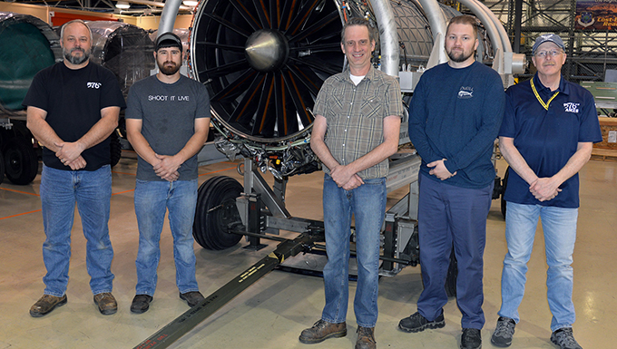 Hill engine shop reaches a milestone in engine restoration for the F-35 Lightning II