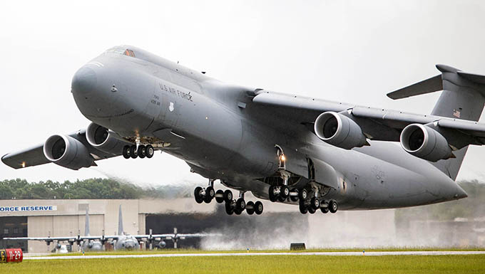 Galaxy wraps upgrades to become C-5M Super Galaxy